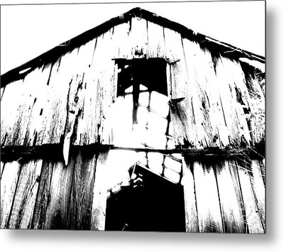 Barn Metal Print by Amanda Barcon