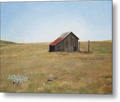 Barn Metal Print by Joshua Martin