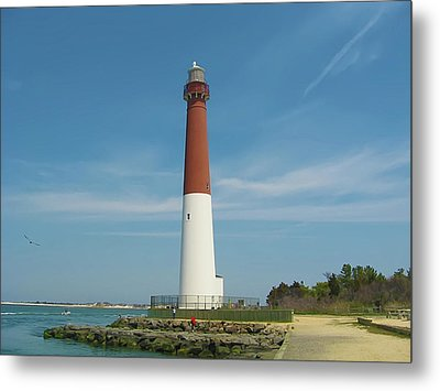 Barnegat Lighthouse Metal Print by Bill Cannon