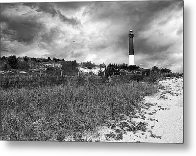 Barnegat Lighthouse Metal Print by John Rivera