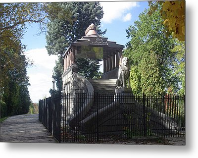 Barney Mausoleum At Forest Park, Springfield, Ma. Metal Print