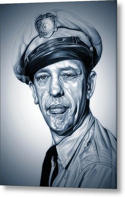 Barney Fife Metal Print by Fred Larucci