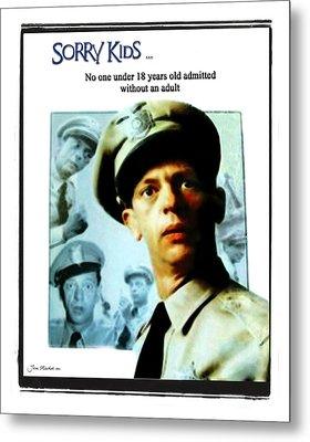 Barney Poster Metal Print