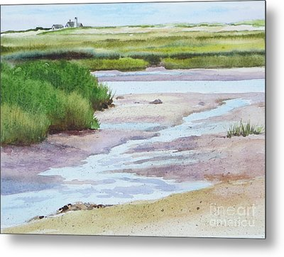 Barnstable Marsh Metal Print