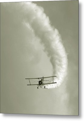 Barnstormer Metal Print by David April