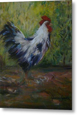 Barnyard Metal Print by Gloria Smith