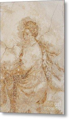 Baroque Mural Painting Metal Print by Michal Boubin
