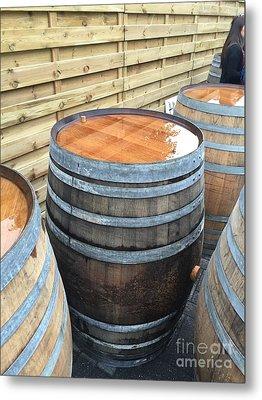 Barrels In Belgium Metal Print