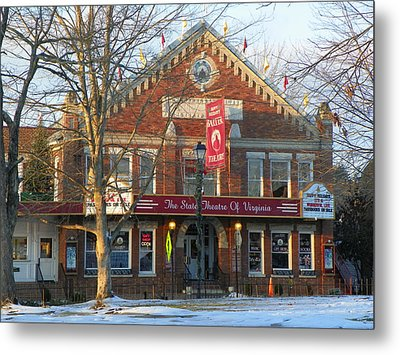 Barter Theatre Metal Print by Karen Wiles