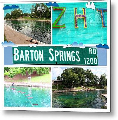 Barton Springs Metal Print