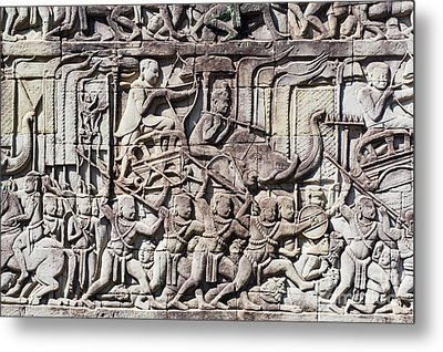 Bas-reliefs II Metal Print by Bill Brennan - Printscapes