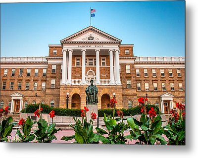 Bascom Hall Metal Print by Todd Klassy