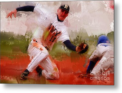 Base Ball 02 Metal Print by Gull G