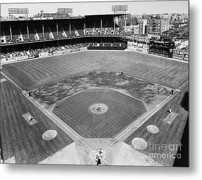 Baseball Game, C1953 Metal Print by Granger