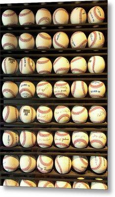 Baseball - You Have Got Some Balls There Metal Print