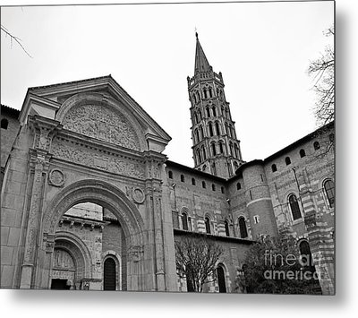 Basilique St Sernin In Toulouse Metal Print by Cendrine Marrouat