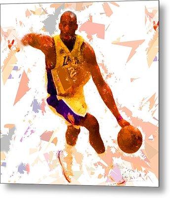 Basketball 24 A Metal Print