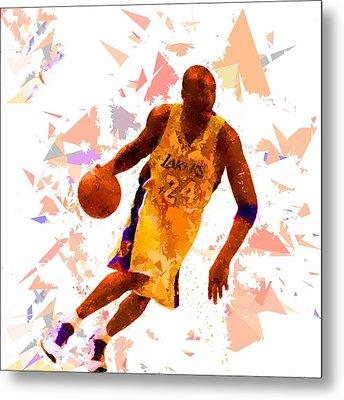 Basketball 24 Metal Print
