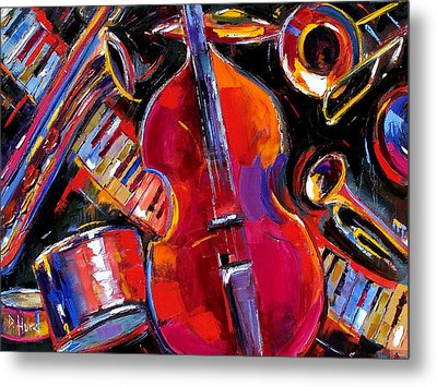Bass And Friends Metal Print