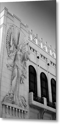 Bass Angel Bw Metal Print