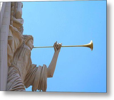 Bass Angel Metal Print