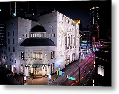 Bass Hall Resplendence Metal Print