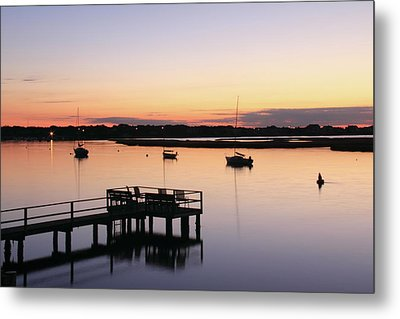 Bass River Before Sunrise Metal Print