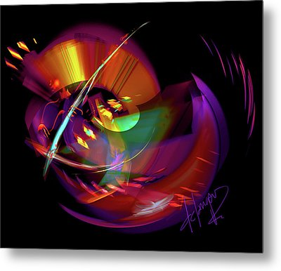 International Bass Station Metal Print by DC Langer