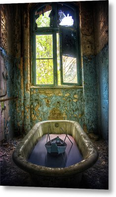 Metal Print featuring the digital art Bath Toy by Nathan Wright