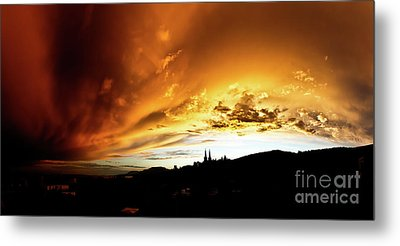 Metal Print featuring the photograph Bathing In The Light Of The Heavens by Charles Lupica