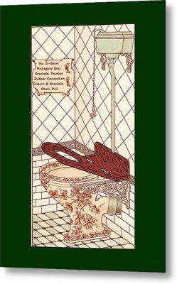 Bathroom Picture Seven Metal Print