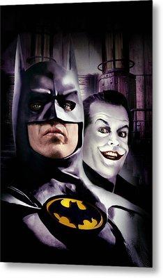 Batman 1989 Metal Print