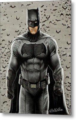 Batman Ben Affleck Metal Print