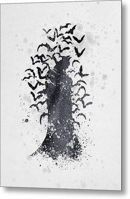 Batman The Caped Crusader 01 Metal Print by Aged Pixel