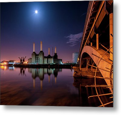 Battersea Power Station Metal Print by Vulture Labs