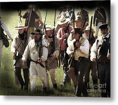 Battle Of San Jacinto Metal Print