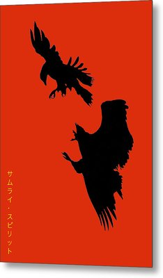 Battle Of The Eagles Metal Print