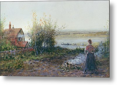 Bawdsey Ferry Metal Print by George Henry Boughton