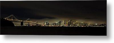 Bay Bridge San Francisco Metal Print by C.s.tjandra