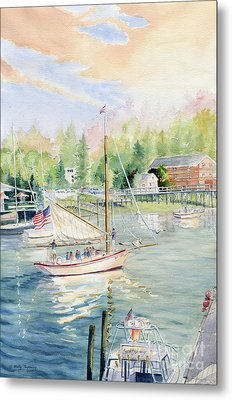 Bay Lady  Metal Print