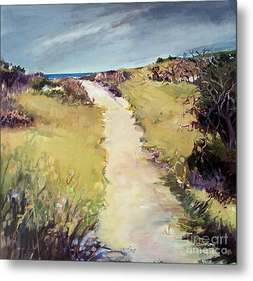 Bay Path Metal Print by Diane Ursin