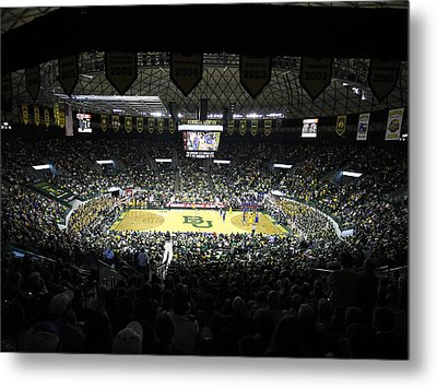 Baylor Bears Sellout Ferrell Center Metal Print by Replay Photos