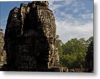 Bayon Temple, Siem Reap Metal Print