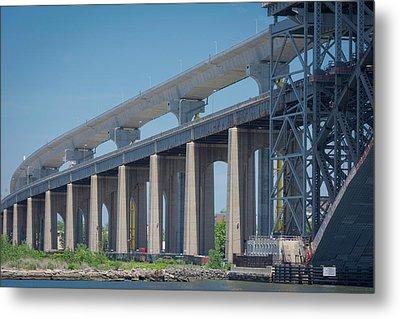 Bayonne Bridge Raising #5 Metal Print