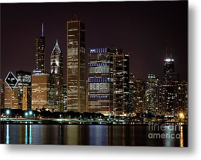 Bcbsil Metal Print by Andrea Silies