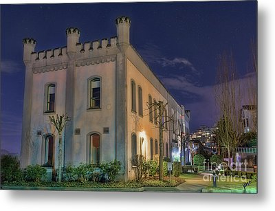Metal Print featuring the mixed media B.c.penitentiary by Jim  Hatch