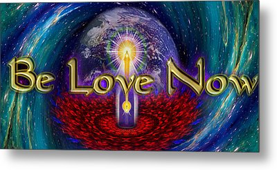 Be Love Now Metal Print by Richard Copeland