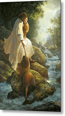 Be Not Afraid Metal Print by Greg Olsen