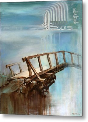 Metal Print featuring the painting Be On The Beyond by Dave Platford