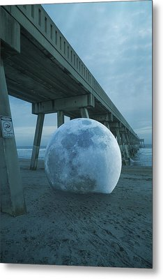 Beach Ball Metal Print by Betsy Knapp